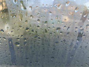 窓ガラスの露